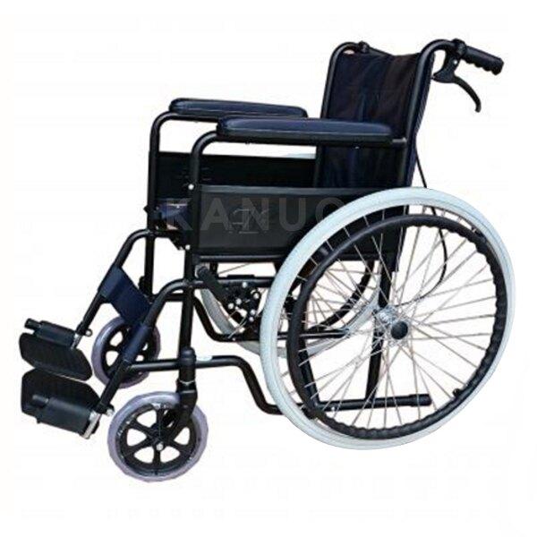 【富士康】鐵製輪椅 FZK-106 烤漆雙煞 喬奕機械式輪椅