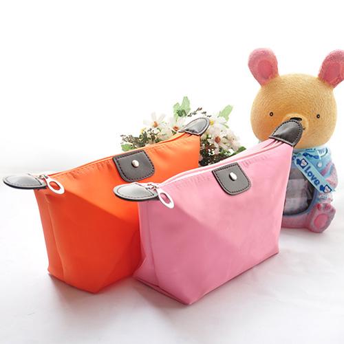 【iSFun】亮彩色調*隨身小化妝包/多色可選+隨機色