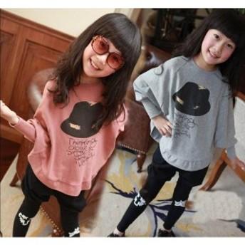ジャージ 上下セット キッズ スウェットセット セットアップ 子供服 女の子 tシャツ パンツ スポーツウェア ポンチョ