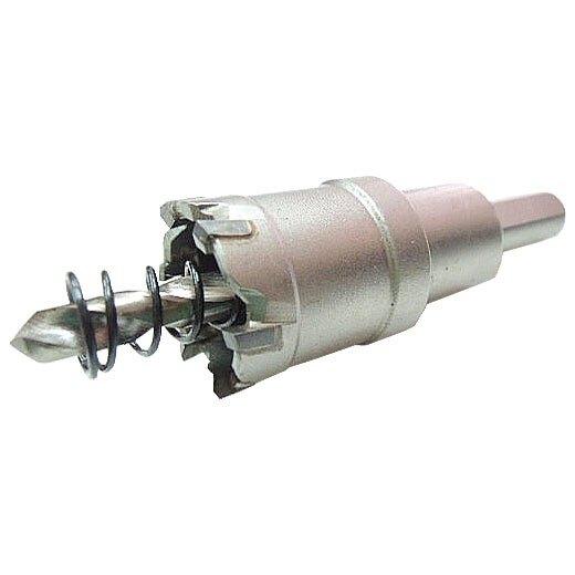白鐵用圓穴鋸 圓穴鑽 22mm 異刃型 鑽孔 開孔器 附彈簧自動彈屑 鑽洞 鑽孔