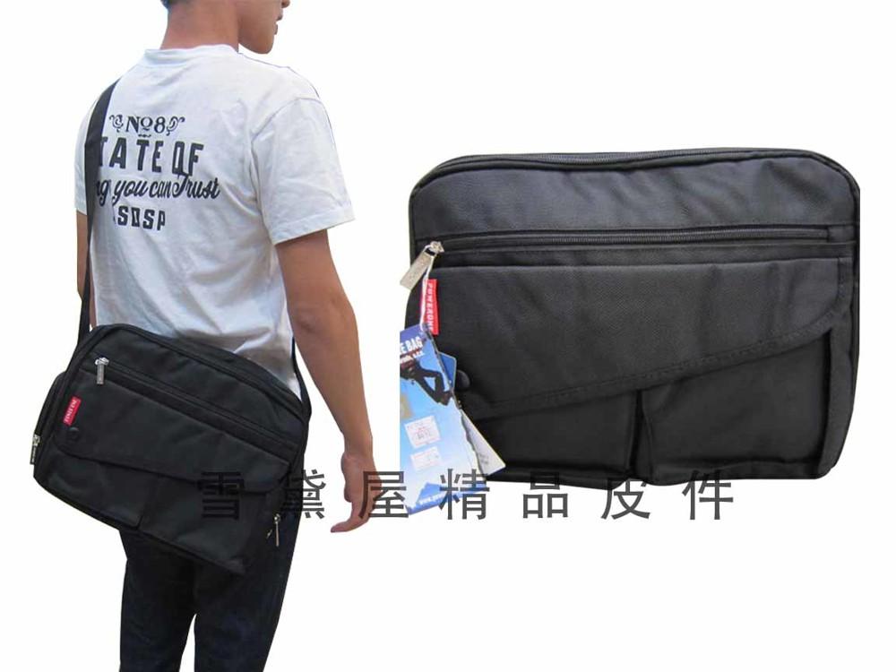側背包二層主袋大容量可a4資料夾外隱藏水袋附8吋電腦保護套外出休閒上學上班