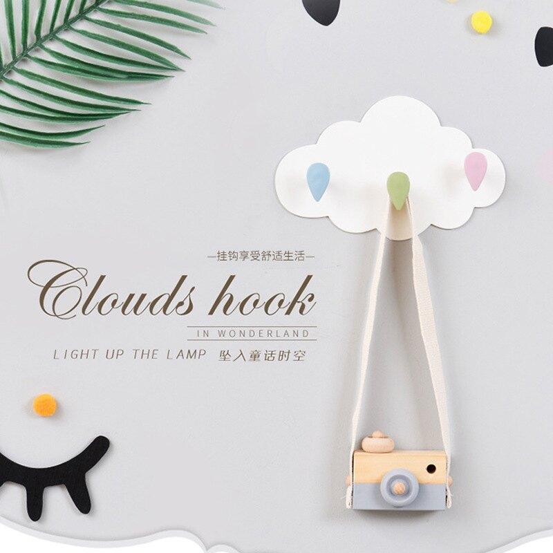 雲朵創意造型免釘掛勾  白雲黏貼掛勾 居家掛鉤 膠貼掛鉤 居家裝飾【RS825】