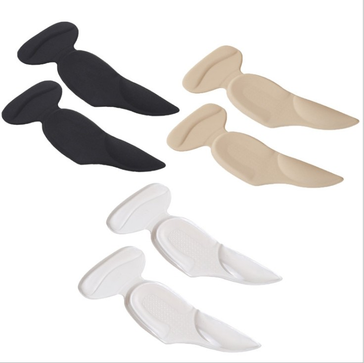 緩解雙腳和鞋子間的摩擦,遇防摩擦產生的疼痛,防止水泡。 足弓保護,分散足部受壓。 適用於平底鞋、高跟鞋、皮鞋、休閒鞋等鞋款。 後跟貼+後跟墊+足弓墊!!3合1矽膠鞋後跟貼足弓墊,優選矽膠材質,像果凍般