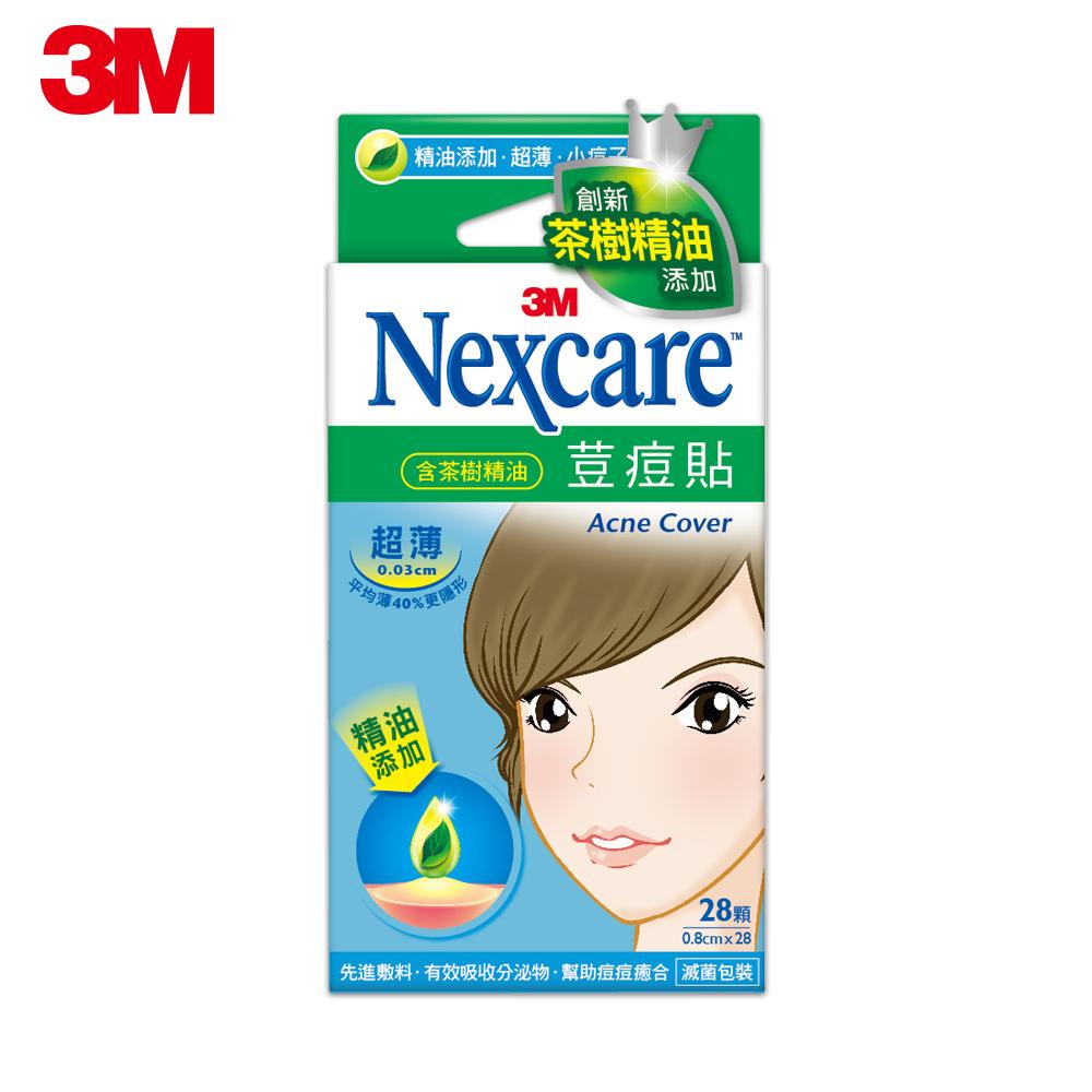 3M Nexcare 茶樹精油荳痘隱形貼-超薄小痘子專用