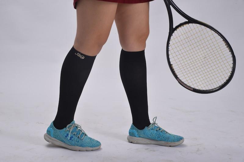機能健康壓力襪1雙黑色