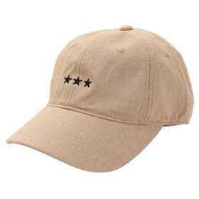 【Super Sports XEBIO & mall店:帽子】リネン刺繍キャップ 3Star 897PA9ST1741 BEG