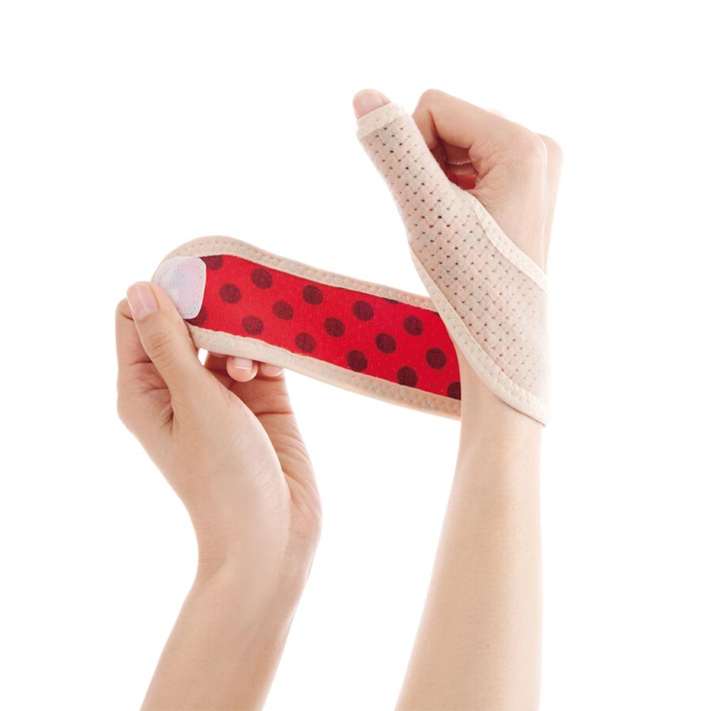Alphax 日本製 遠紅外線拇指護腕固定帶  一入