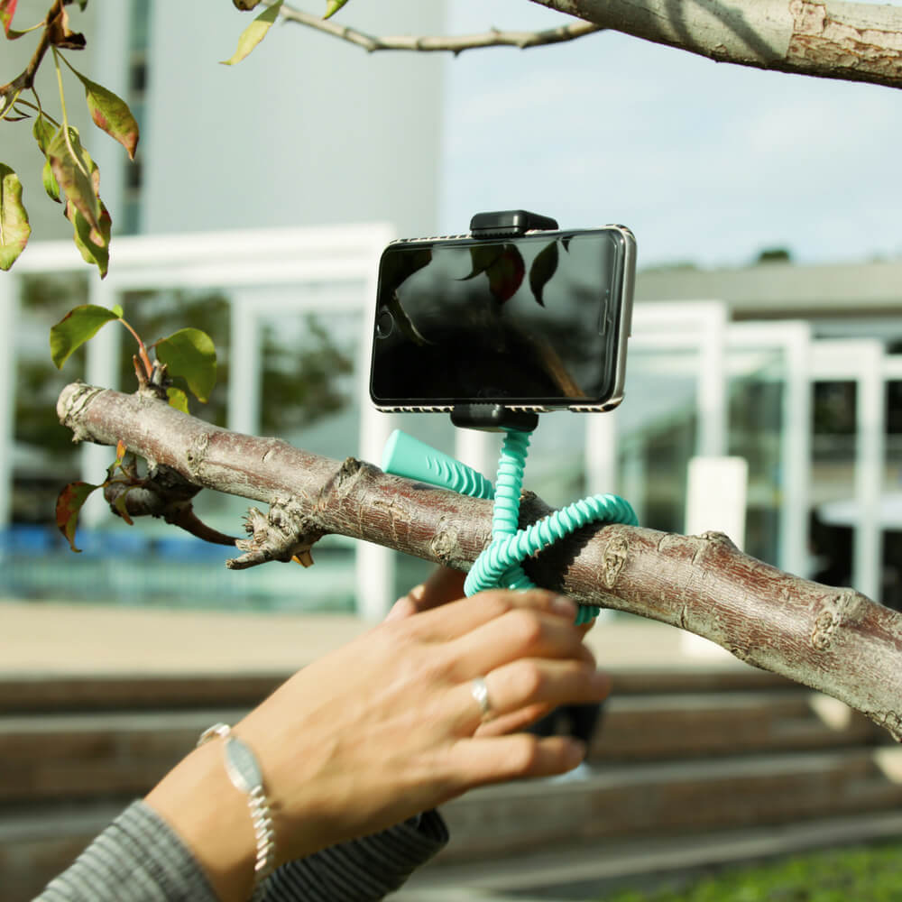 【壁虎爬III】 Gekkostick 世上第一支防水摺疊自拍桿(附自拍器)