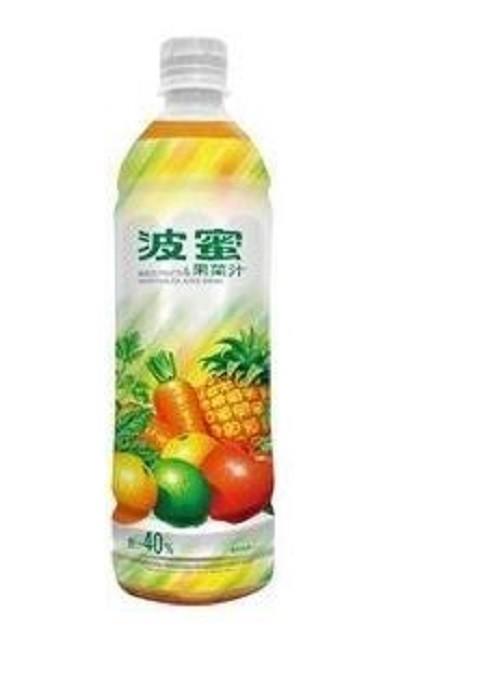 免運直送波蜜果菜汁580ml-(24入/箱)
