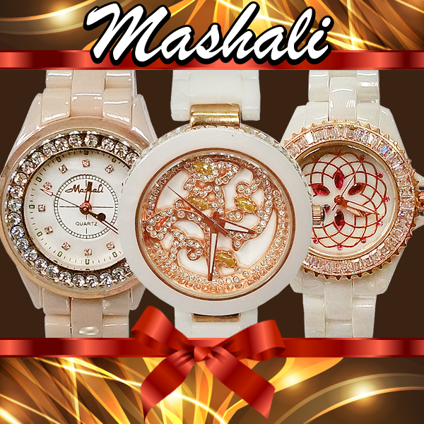 奢華晶鑽系列陶瓷錶