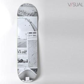 スケートボード デッキ V/SUAL ヴィジュアル VM7 MR COLLAGE DECK 8インチ VISUAL GG F13