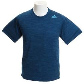 アディダス(ADIDAS) M4Tフリーリフト フィッティドストライプヘザーTシャツ FVY92-DW9821 (Men's)