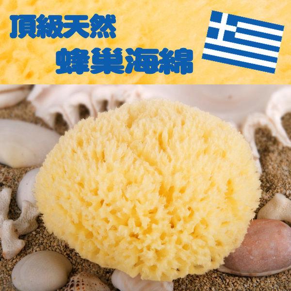 3入 希臘進口天然海綿-蜂巢海綿3.5