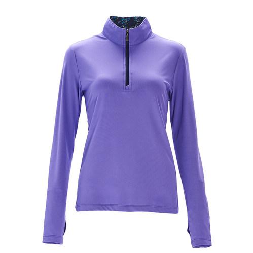 荒野wildland 女彈性針織輕薄上衣紫羅藍
