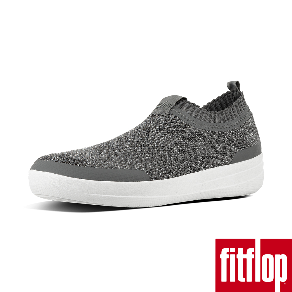【FitFlop】UBERKNIT襪套休閒鞋灰色