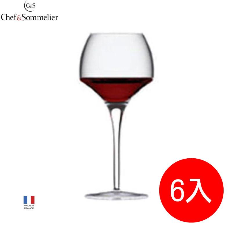 法國c&s紅酒杯葡萄酒杯家用高腳杯高端大氣居家玻璃酒杯(u1013)6入組