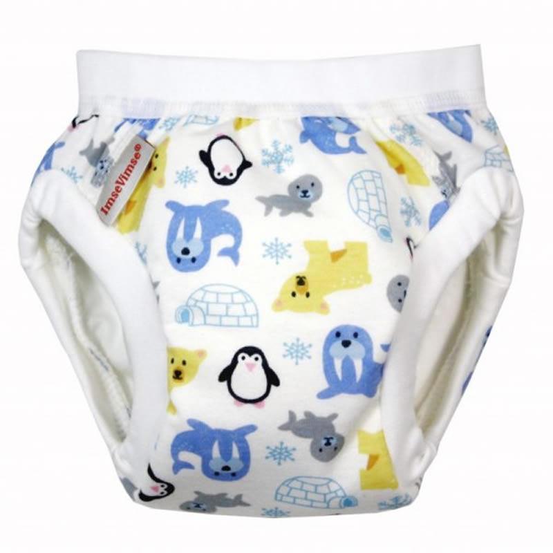 有機棉幼兒如廁訓練褲(極地探險) Large 9-12kg