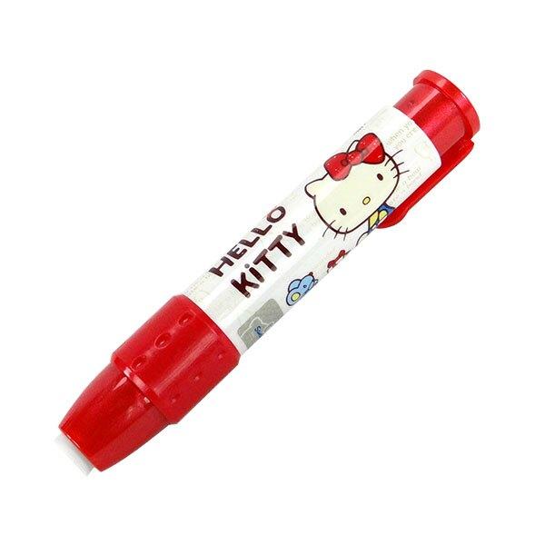 【888便利購】Hello Kitty 胖胖自動按壓橡皮擦(無毒)(授權)