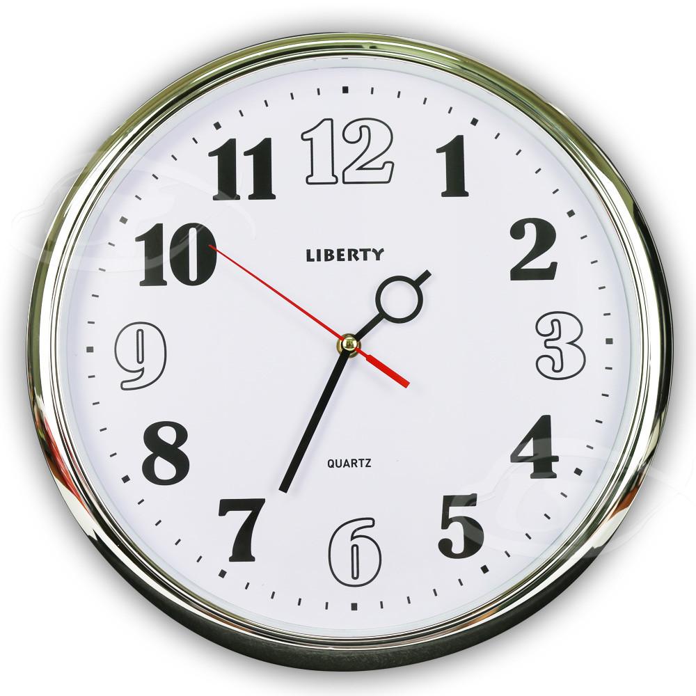 liberty利百代14吋個性簡約掛鐘 lb-1001