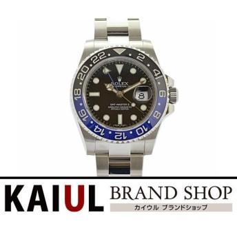 ロレックス GMTマスター2 116710BLNR ランダム番 SS 青黒ベゼル ブルー ブラック ルーレット刻印 メンズ 腕時計 SAランク