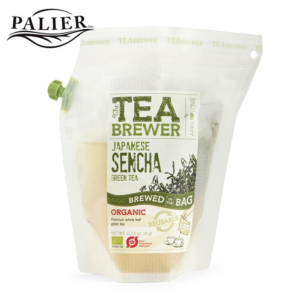 【PALIER】Tea Brewer 丹麥隨身茶飲-日式煎茶 (約4g)