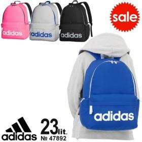 【SALE】 アディダス adidas リュックサック 23リットル デカロゴ かわいい 通学 スクールバッグ スクバ 通学リュック 47892