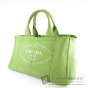 PRADA【プラダ】 カナパトート ハンドバッグ キャンバス レディース 【中古】