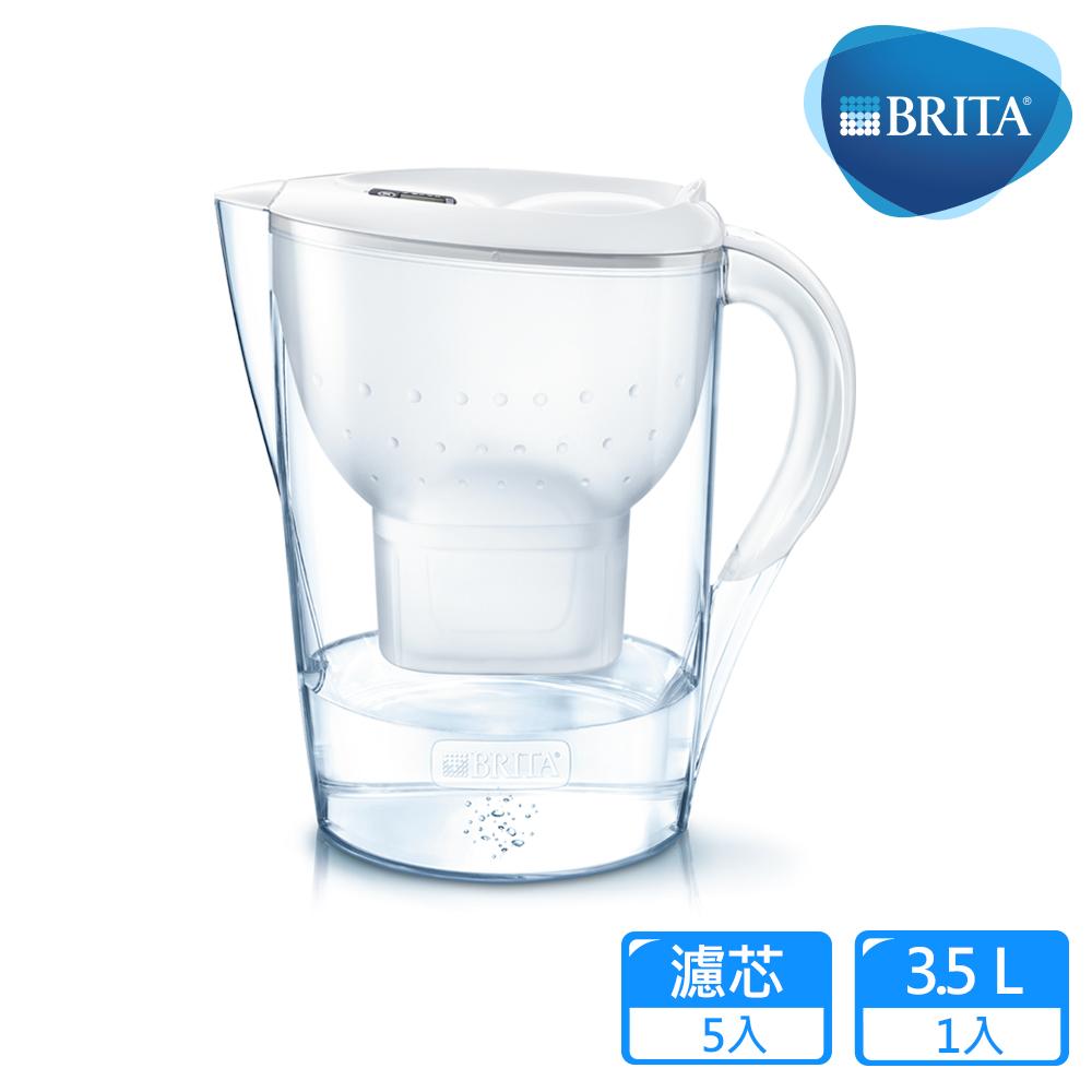 33.5L Marella馬利拉濾水壺 3.5L+ 4入BRITA MAXTRA Plus濾芯