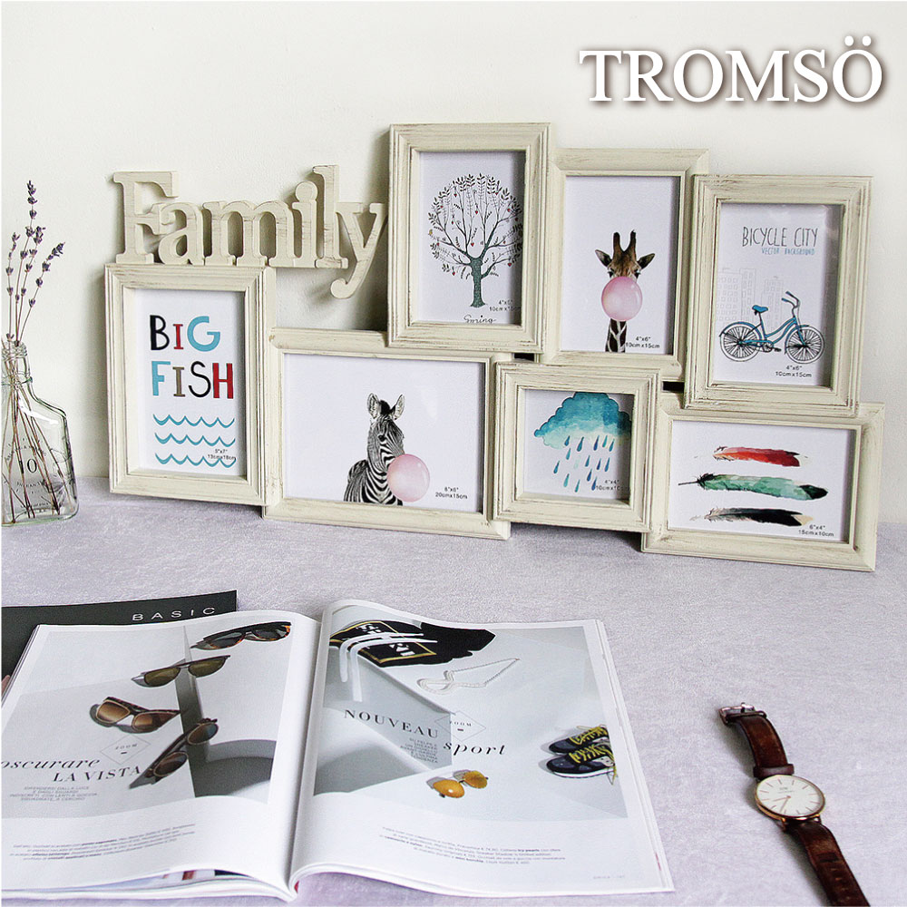 TROMSO北歐木紋FAMILY7框組