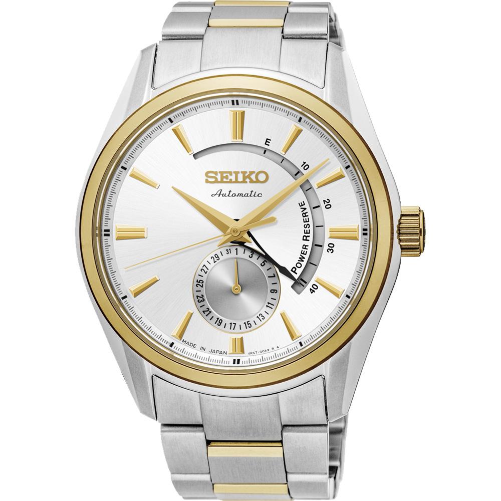 SEIKO 精工 Presage 4R57 動力儲存機械腕錶-42mm 4R57-00A0KS(SSA306J1)