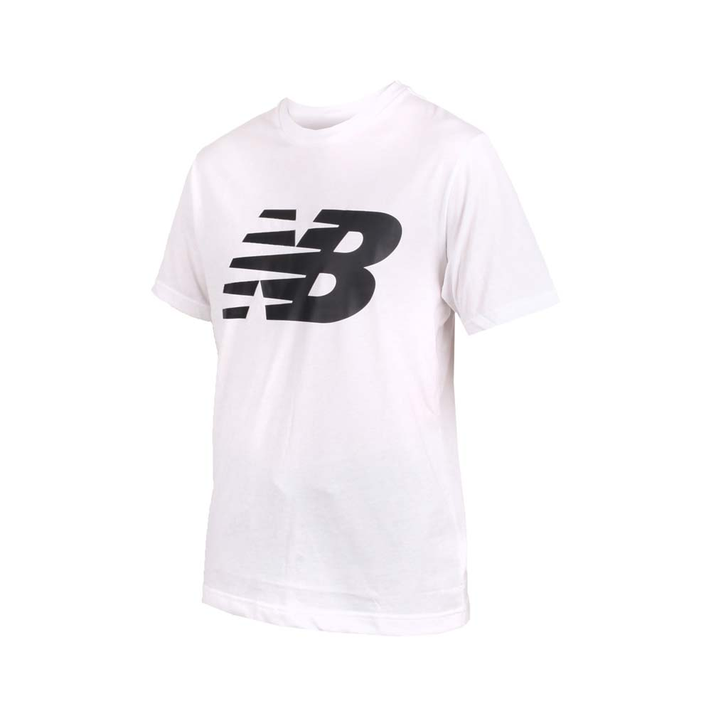 NEWBALANCE 男短袖T恤-短T T恤 短袖上衣 NB 白黑