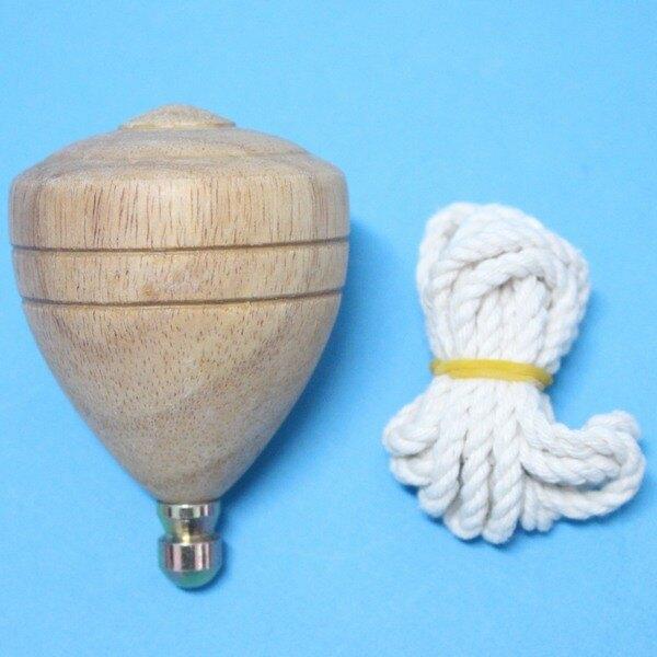 台灣製陀螺 (中大大)直徑約58mm 彩繪陀螺 實木陀螺 木質陀螺/一個入{定60}童玩陀螺~光華