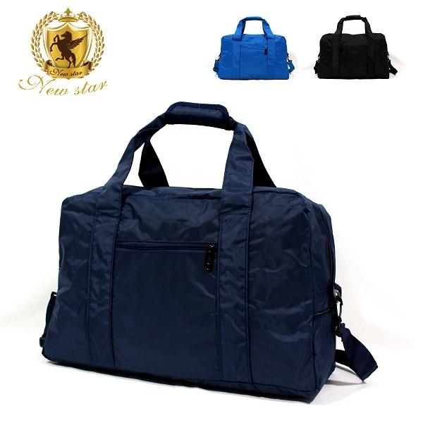 肩背包 日系極簡超大容量口袋旅行袋購物袋 new star bb35