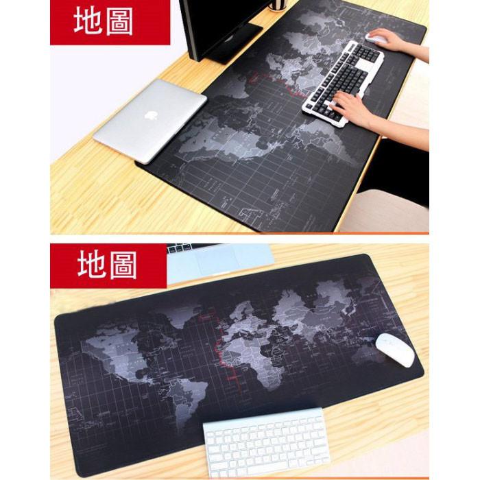 超大號世界地圖滑鼠墊 遊戲桌墊 電腦桌墊 大號滑鼠墊