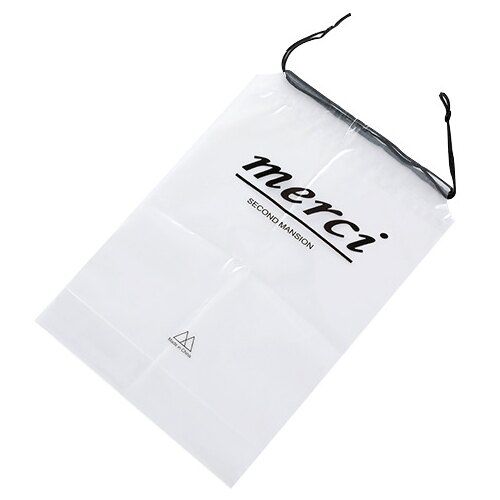【A-HUNG】PVC 透明束口袋 (5入) 防水旅行收納袋 收納包 鞋子 衣服 透明袋 防塵袋 行李袋 整理袋
