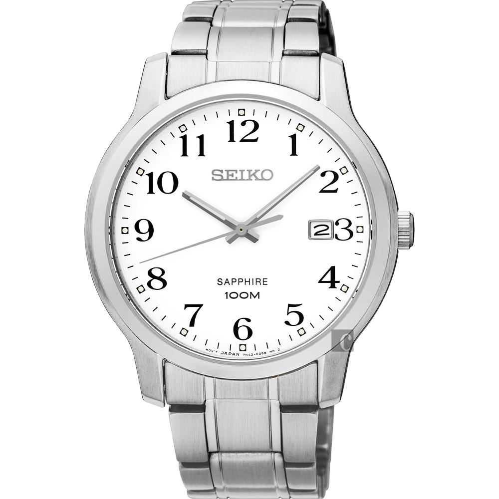 SEIKO 精工 CS 系列城市戀人腕錶-白/41mm  7N42-0GE0X(SGEH67P1)