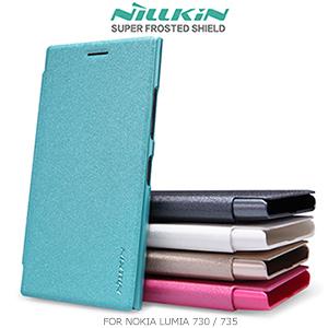 NILLKIN Nokia Lumia 730/735  星韵系列  側翻皮套