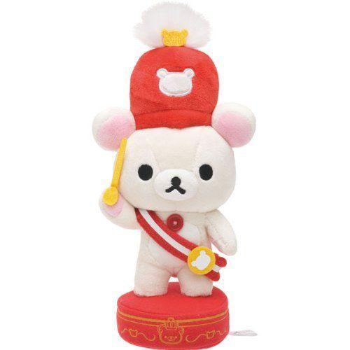 【真愛日本】13072600058 10th樂隊娃-奶熊指揮 SAN-X 懶熊 奶妹 奶熊 娃娃 玩偶 樂隊指揮 收藏