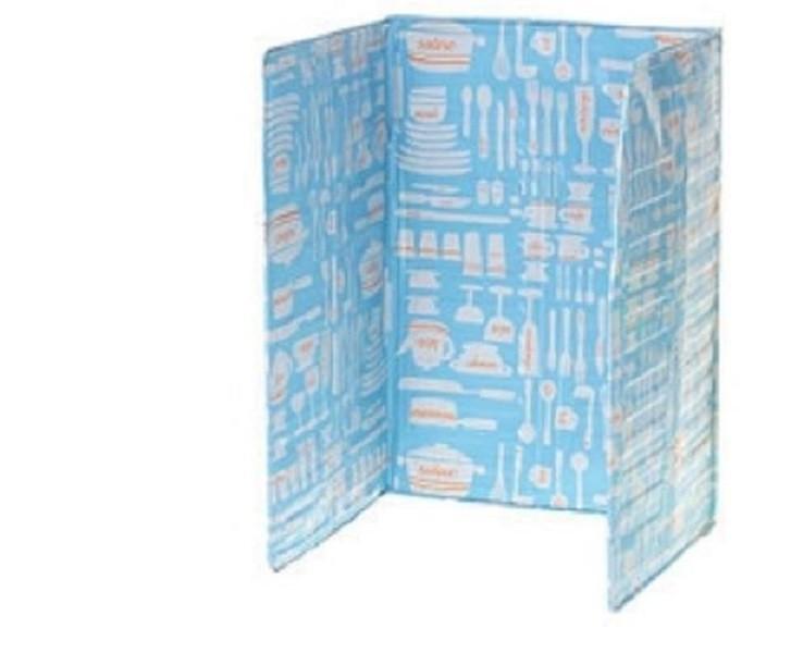 居家炒菜鋁箔隔熱板s006 擋油板 居家廚房 防油煙 炒菜隔熱板 廚房 防油噴 安全 廚房鋁箔