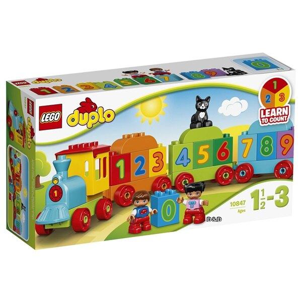 樂高LEGO 10847 Duplo 得寶系列 -數字火車