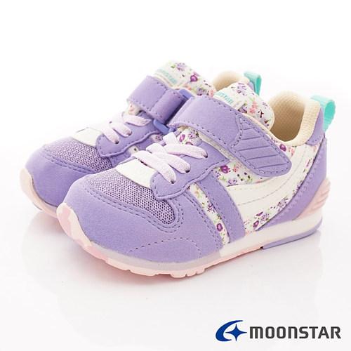 日本Carrot機能童鞋-HI系列穩定機能款C2121S29紫-(14cm-21cm)