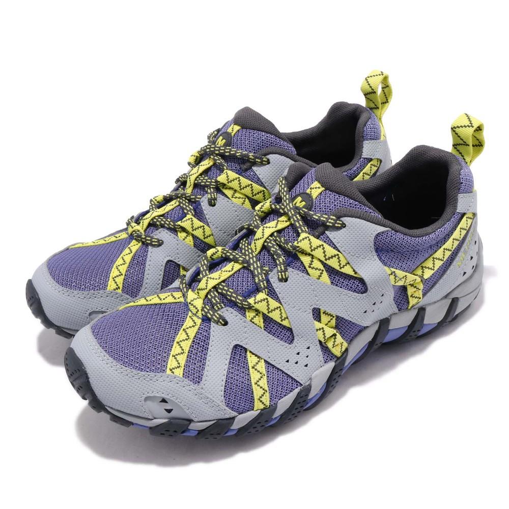 MERRELL 兩用鞋 Waterpro Maipo 2 女鞋 登山越野 水陸兩棲 抗菌防臭 耐磨黃金大底 紫黃 [ML84764]