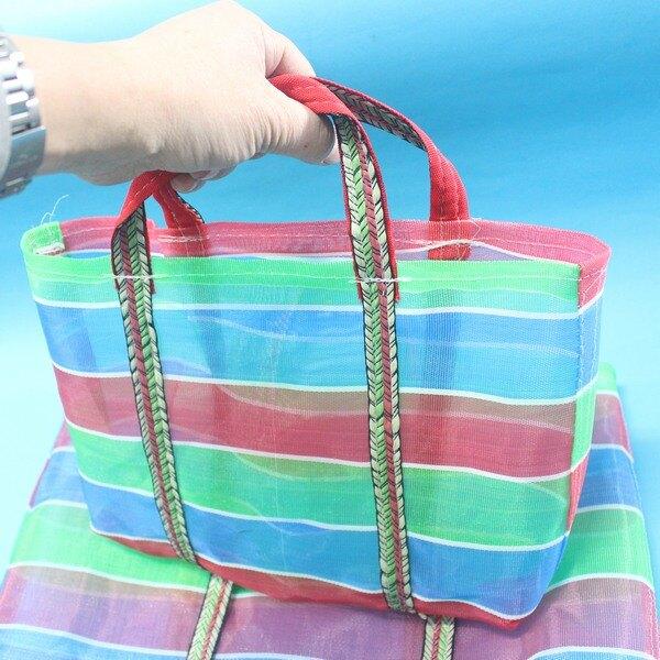 3號茄芷袋 台客袋 阿嬤袋 阿媽手提袋 MIT製/一個入/{促70}~尼龍手提袋 嘎嘰袋 復古手提袋 帆布袋