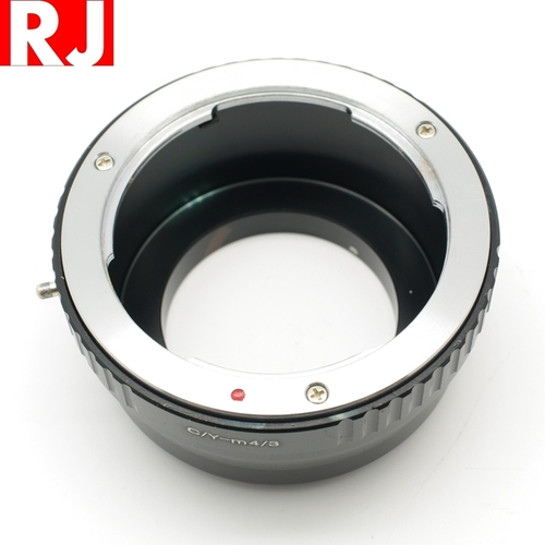 RJ製造CY鏡頭轉M4/3轉接環即Contax Yashica鏡頭轉接Micro Four Thirds機身CY-M4/3鏡頭轉接環 CY轉M43