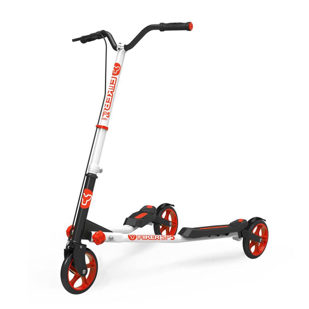 Y Volution|搖擺滑板車-速度升級款YFLIKER SP5(紅色)