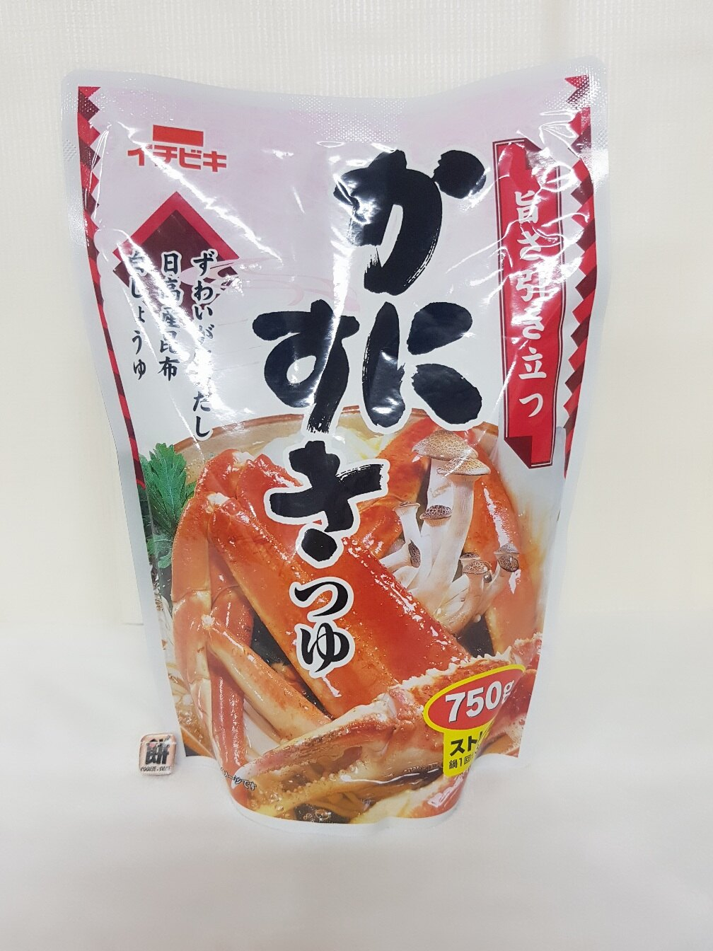 Ichibiki 螃蟹火鍋湯底-750ml包