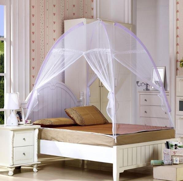 自動魔術蒙古包 / 蚊帳折疊免安裝打開即用蚊帳寢式用品