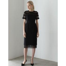 LAGUNAMOON ラグナムーン LADYフリンジレースタイトドレス