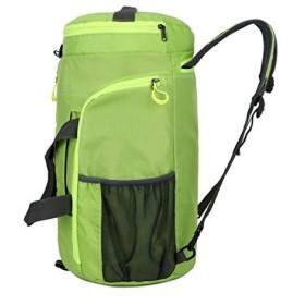 スポーツバッグ 旅行バッグ 軽量 ショルダバック フィットネス バッグ 折り畳みボストンバッグ 大容量 防水ナイロントート機能3wayリュック型可能(