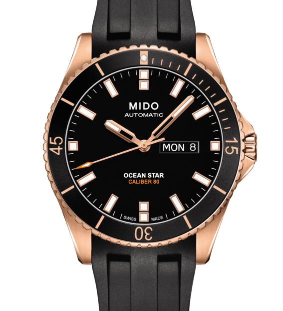 MIDO 美度 OCEAN STAR 動力儲存80小時 200米潛水機械錶 M0264303705100 黑 42mm。人氣店家清水鐘錶的精選潛水錶專區有最棒的商品。快到日本NO.1的Rakuten樂